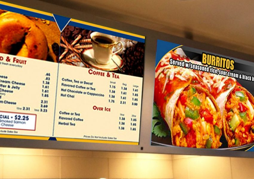 4 tips for making the most out of your digital menu board expert