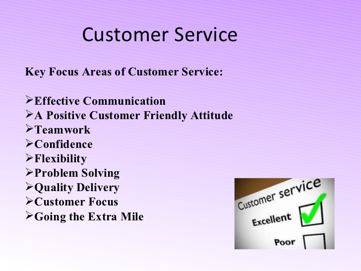 Customer Service Protocol